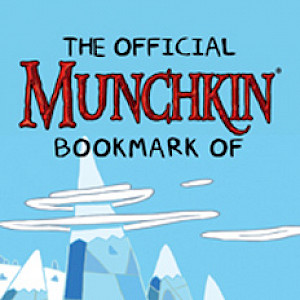 The Official Munchkin Bookmark of Adventure Time! cover