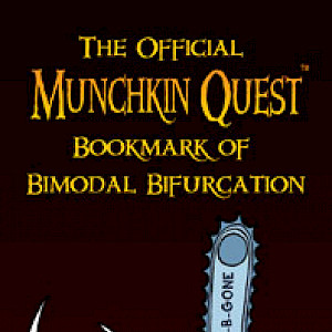 The Official Munchkin Quest Bookmark of Bimodal Bifurcation cover