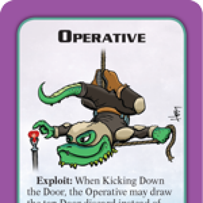 Munchkin Starfinder Preview: Operative cover