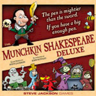Munchkin Shakespeare Takes The Stage! cover