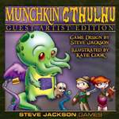 Munchkin Cthulhu GAE Up For Preorder! cover
