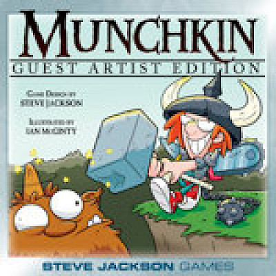 Munchkin Guest Artist Editions! cover