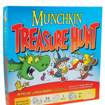 In Case You Missed It: Announcing Munchkin Treasure Hunt! cover