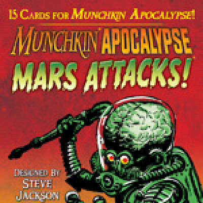 Now Shipping: Munchkin Apocalypse: Mars Attacks! cover