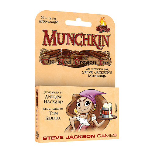 Munchkin: The Red Dragon Inn cover