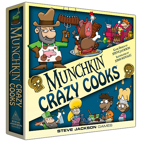 Munchkin Crazy Cooks cover
