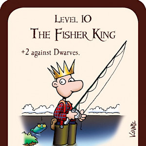 The Fisher King Munchkin Promo Card cover