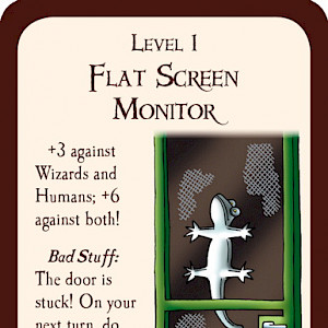 Flat Screen Monitor Munchkin Promo Card cover