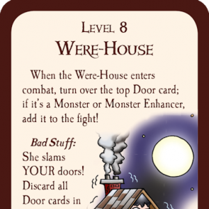 Were-House Munchkin Promo Card cover
