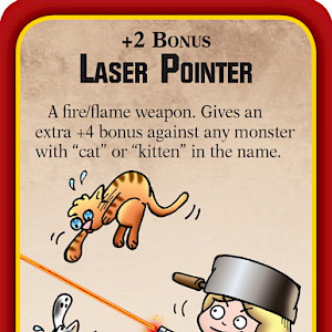 Laser Pointer Munchkin Apocalypse Promo Card cover