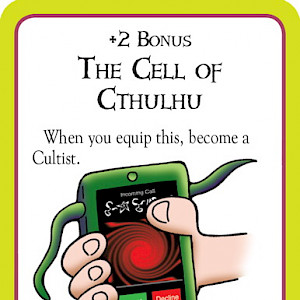 The Cell of Cthulhu Munchkin Cthulhu Promo Card cover