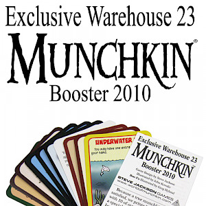 Exclusive Warehouse 23 Munchkin Booster 2010 cover