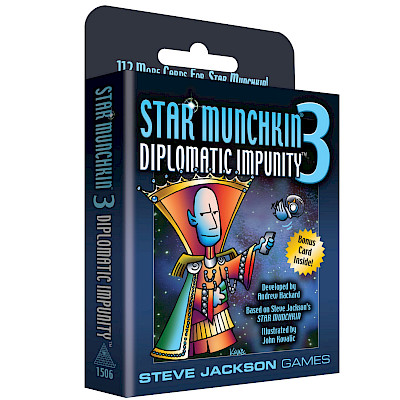 Star Munchkin 3 – Diplomatic Impunity Designer's Notes cover