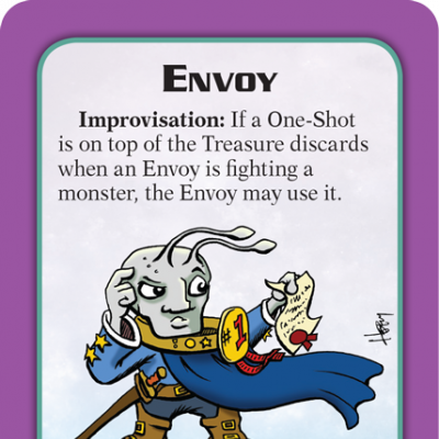 Munchkin Starfinder Preview: Envoy cover