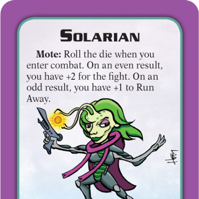 Munchkin Starfinder Preview: Solarian cover