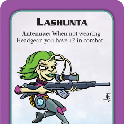 Munchkin Starfinder Preview: Lashunta cover