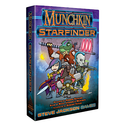 Munchkin Starfinder Preview: Three Old Friends cover