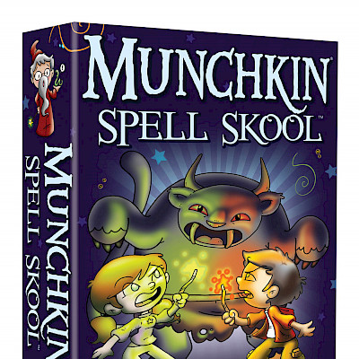 Munchkin Spell Skool Designer's Notes cover