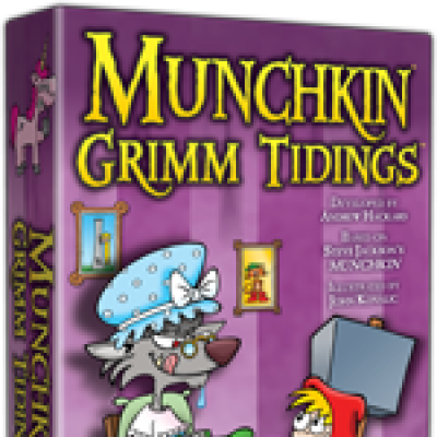 Munchkin Grimm Tidings Designer's Notes cover