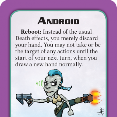 Munchkin Starfinder Preview: Android cover
