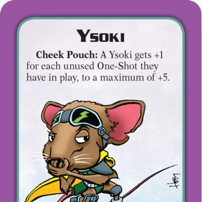 Munchkin Starfinder Preview: Ysoki cover
