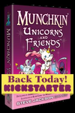 Munchkin Unicorns And Friends Is On Kickstarter