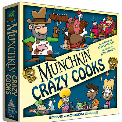 Munchkin Crazy Cooks Designer's Notes cover