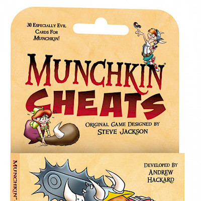Munchkin Cheats Designer's Notes cover