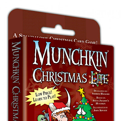 Munchkin Christmas Lite Designer's Notes cover