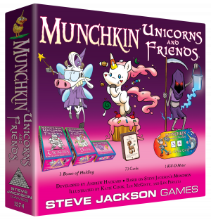 Munchkin Unicorns and Friends cover
