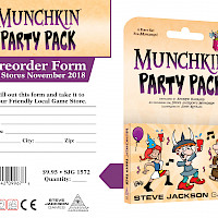 Munchkin Party Pack Preorder Form