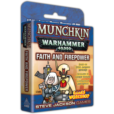 Design Diary: Faith, Firepower, and Fun – Playtesting a Munchkin Warhammer 40,000 Expansion cover