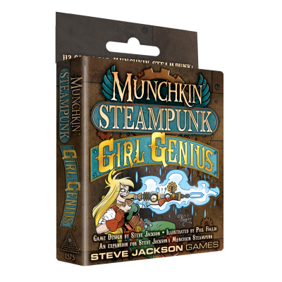 Munchkin Steampunk: Girl Genius Is On Kickstarter! cover
