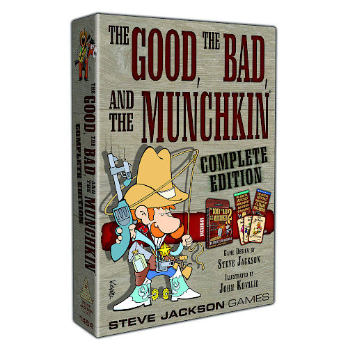 The Good, the Bad and the Munchkin (T.O.S.) -  Steve Jackson Games