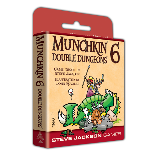 Munchkin 6 Double Dungeons -  Steve Jackson Games