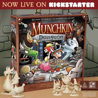 Munchkin Dungeon Is Live! cover