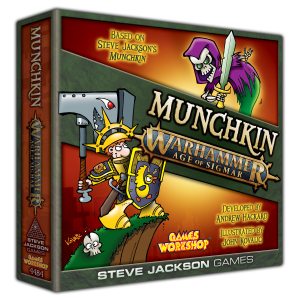 Munchkin Warhammer Age of Sigmar cover
