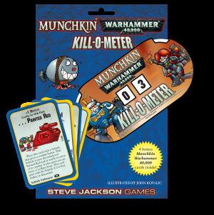 NEW 40k With Rules For Use Munchkin Warhammer 40,000 Bookmark of Extreme Dakka