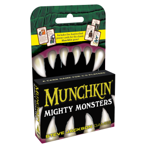 Munchkin Mighty Monsters cover