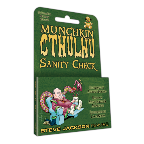 Munchkin Cthulhu: Sanity Check cover
