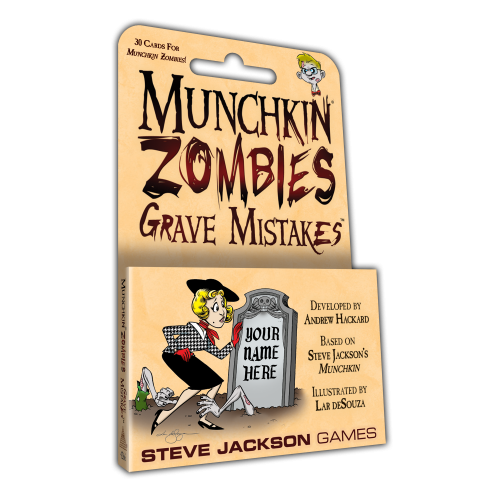 Grave Mistakes: Munchkin Zombies -  Steve Jackson Games