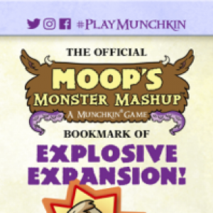 The Official Moop's Monster Mashup Bookmark of Explosive Expansion! cover