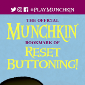 The Official Munchkin Bookmark of Reset Buttoning! cover