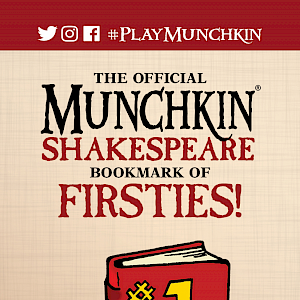 The Official Munchkin Shakespeare Bookmark of Firsties! cover