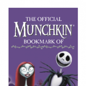 The Official Munchkin Bookmark of the Nightmare Before Christmas cover