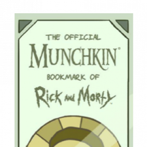 The Official Munchkin Bookmark of Rick and Morty cover