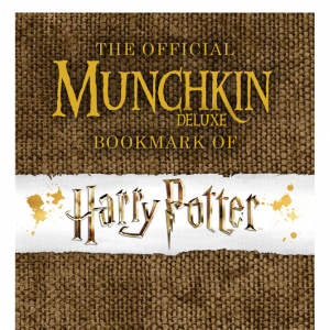 The Official Munchkin Bookmark: Harry Potter - Gryffindor cover