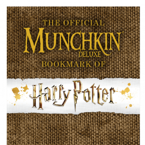 The Official Munchkin Bookmark: Harry Potter - Slytherin cover