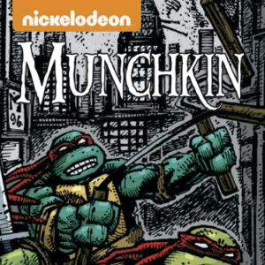 The Official Munchkin Teenage Mutant Ninja Turtles Bookmark of Saving Your Shell! cover