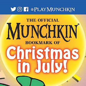 The Official Munchkin Bookmark of Christmas in July! cover